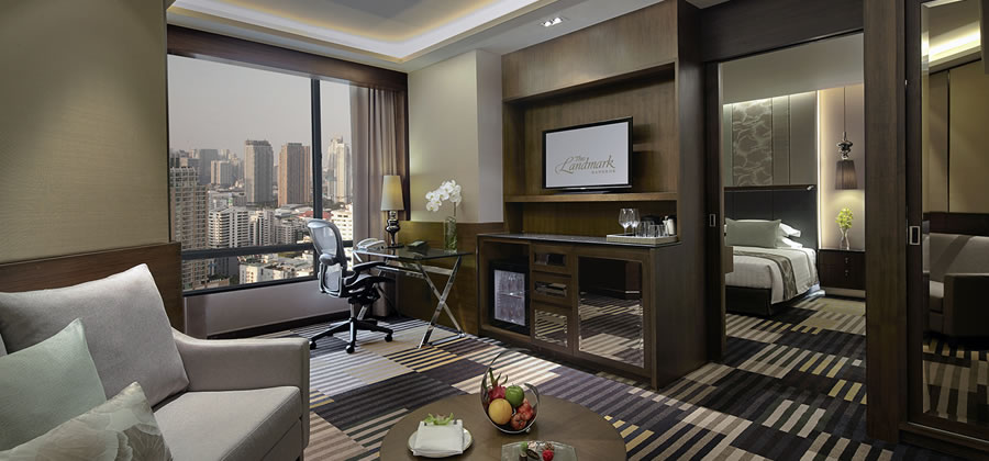Landmark Bangkok - Deluxe Suite